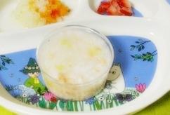 野菜スープ粥