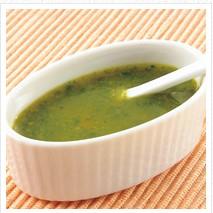 緑キューブのスープ