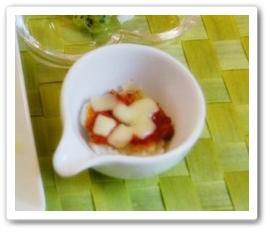 里芋とトマトのチーズ焼き