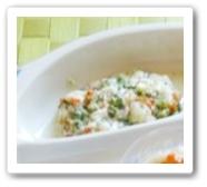 豆腐と野菜の和え物