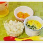 離乳食109日1回目スープパン粥