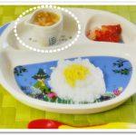 離乳食99日1回目野菜スープ