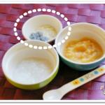 離乳食43日1回目豆腐としらすの和え物