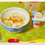 離乳食111日2回目野菜と豆腐のうどん