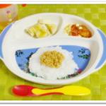 離乳食133日3回目スタミナ納豆丼