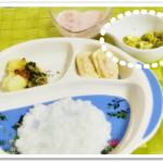 離乳食157日3回目ブロッコリーのサラダ