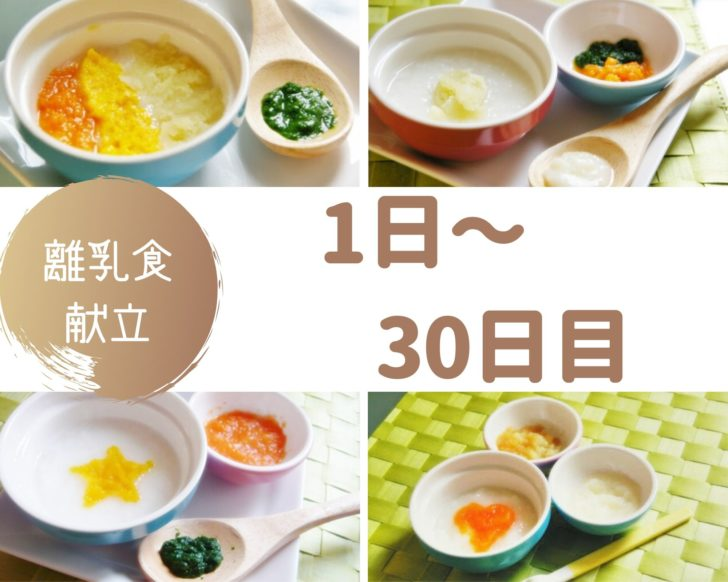 離乳食1~30日